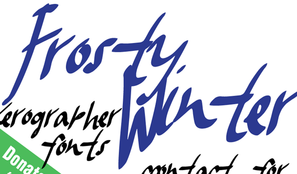 Frosty-Winter-Font-dafont.com