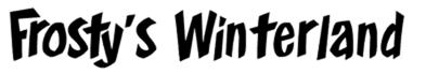 Frostys-Winterland-Font-dafont.com