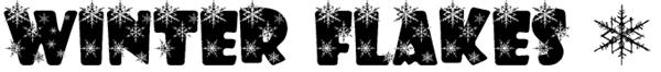 Winter-Flakes-Font-dafont.com